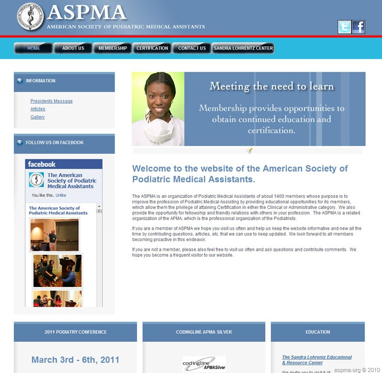 Examination Dates | The American Society of Podiatric Medical ...